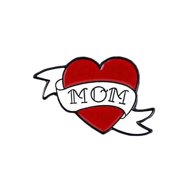 "Enamel Pin ""Mom Tattoo"""