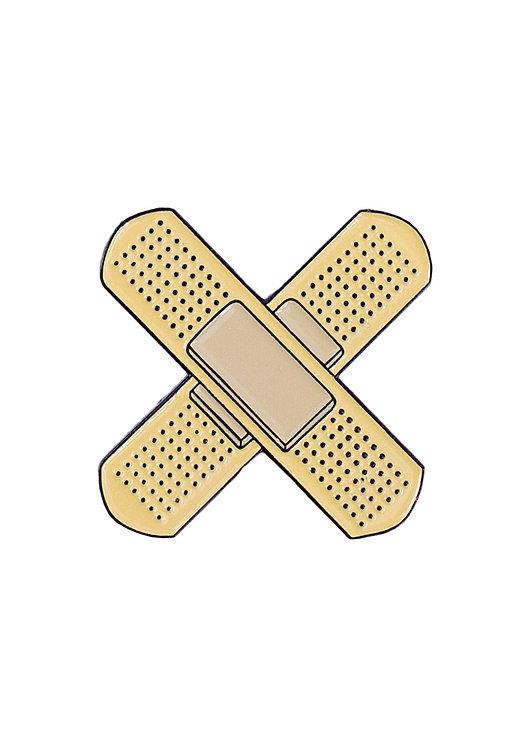 "Enamel Pin ""Plaster"""