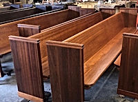 Church Pews After