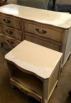 Dresser & Night Stand Before