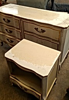 Dresser & Night Stand Before