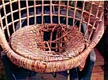 Rattan Chair before