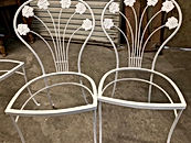 Metal Chairs After