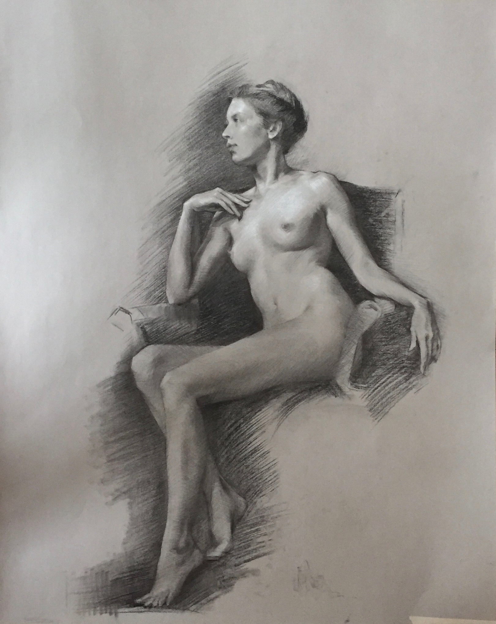 Seated Nude II