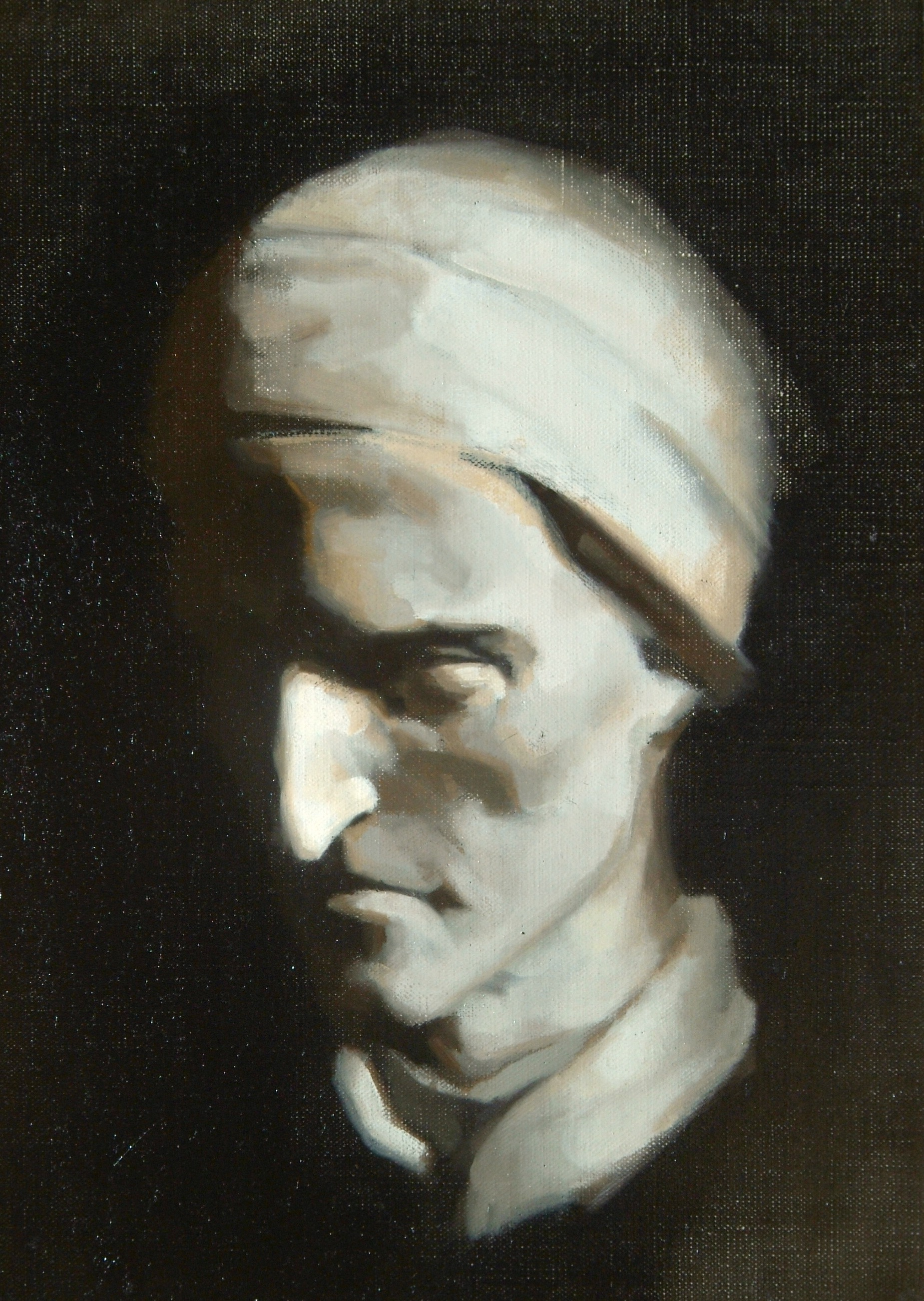 Cast Painting of Dante