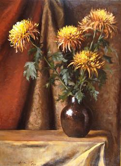 Copper and Chrysanthemum