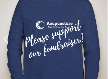Join our fundraiser!!! Help create awareness for Acupuncture amidst the Opioid Crisis