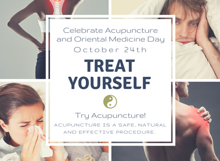 """Oct. 24 – """"Our Acupuncture and Oriental Medicine Day"""""""