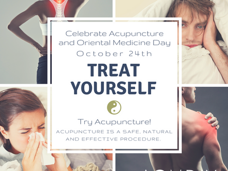 "Oct. 24 – ""Our Acupuncture and Oriental Medicine Day"""