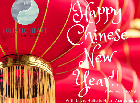 Wishing you a very Happy Chinese New Year today....the Year of the Pig for 2019!!