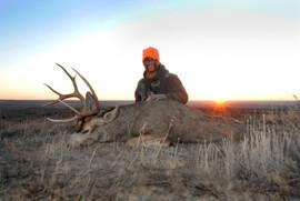 Brandon Adams 2012 Oklahoma Mule Deer