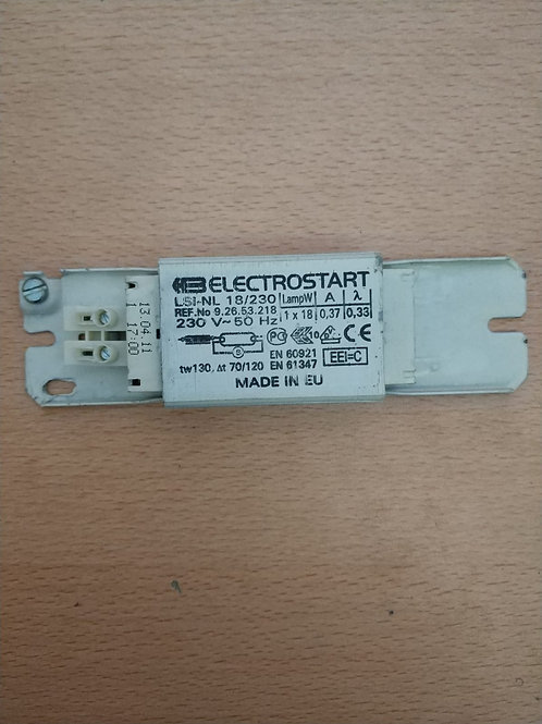 1x18w mekanik balast elektrostart