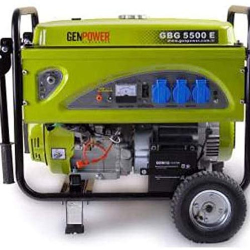 Genpower gbg 5500e Benzinli, marşlı jeneratör