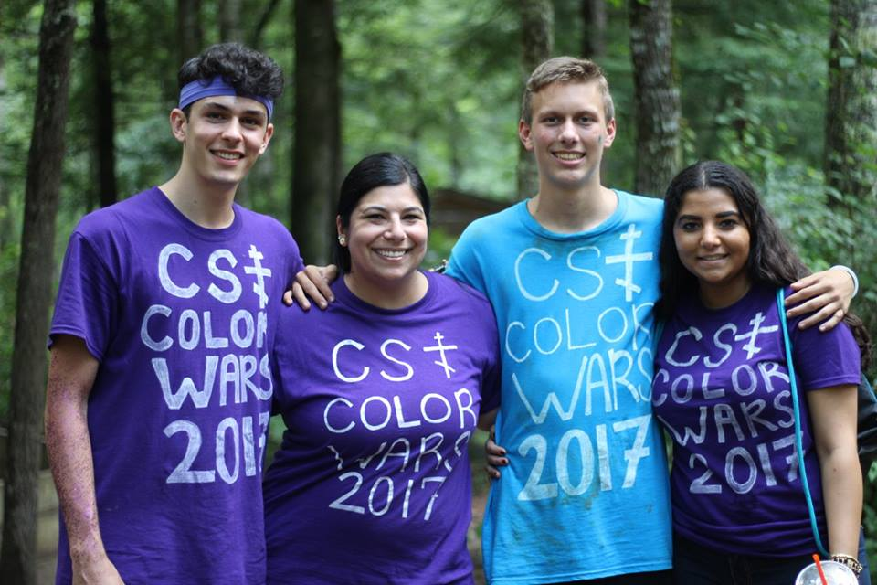 Camp Saint Thekla Color Wars