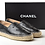 Thumbnail: Chanel Black Lambskin Espadrilles