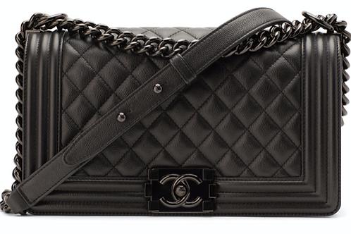 Chanel So Black Boy Bag