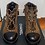 Thumbnail: Chanel Brown Pony Hair Ankle Boots Booties