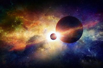 Planet en de Maan