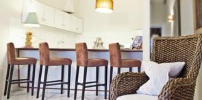 Treasure by the Sea-Kas di Amigu Living/Kitchen Area