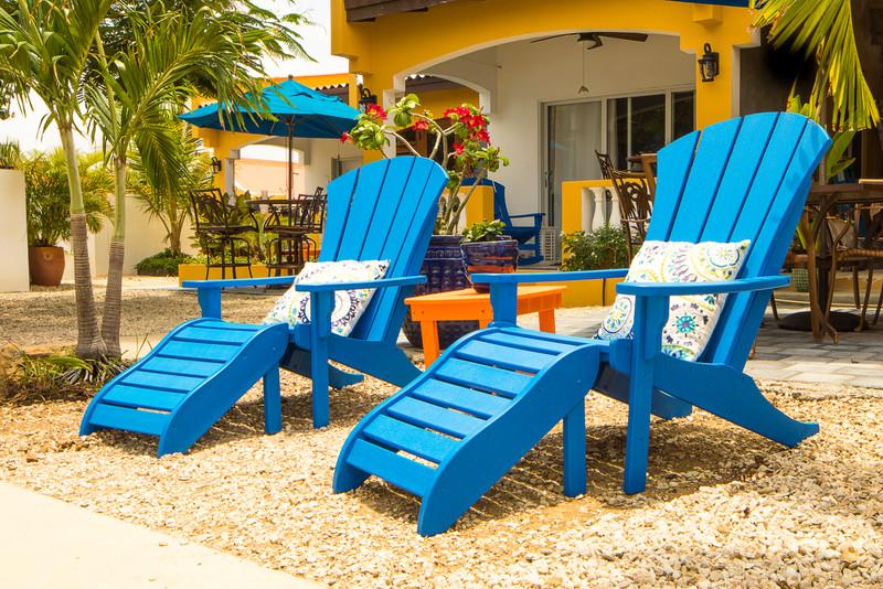 Treasure by the Sea-Kas di Amigu Adirondack Chairs