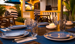 Treasure by the Sea- Outdoor Dining Area