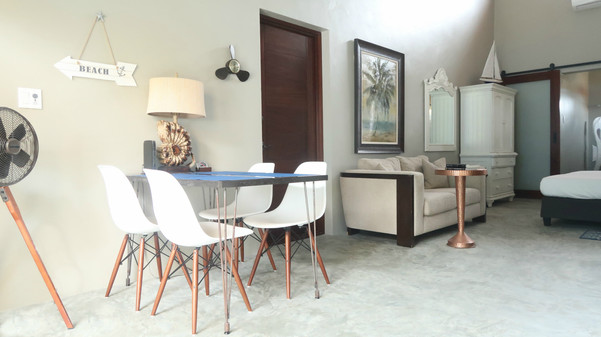 Treasure by the Sea-Kas di Alegria Dining/Living Area