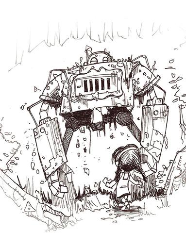 Tin Man and Dorothy