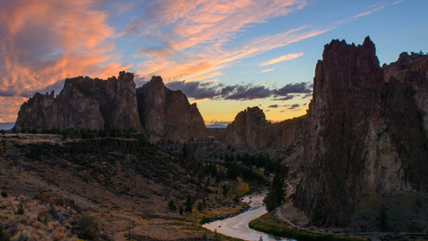 Crooked River Sunset