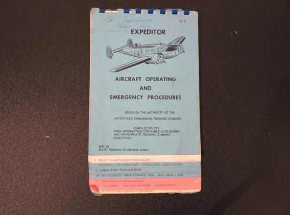Expeditor checklist