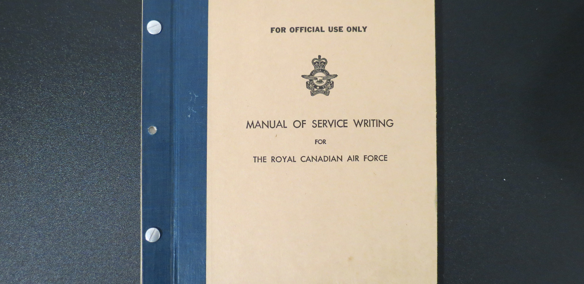 Manual of Service Writing