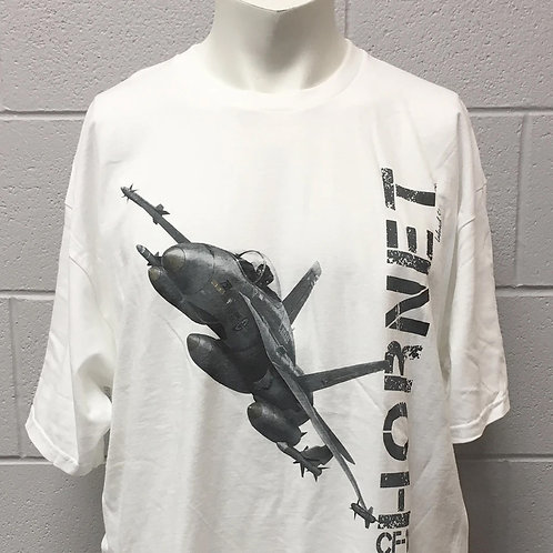 CF-18 White T-Shirt