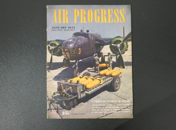 Air Progress magazine 1943