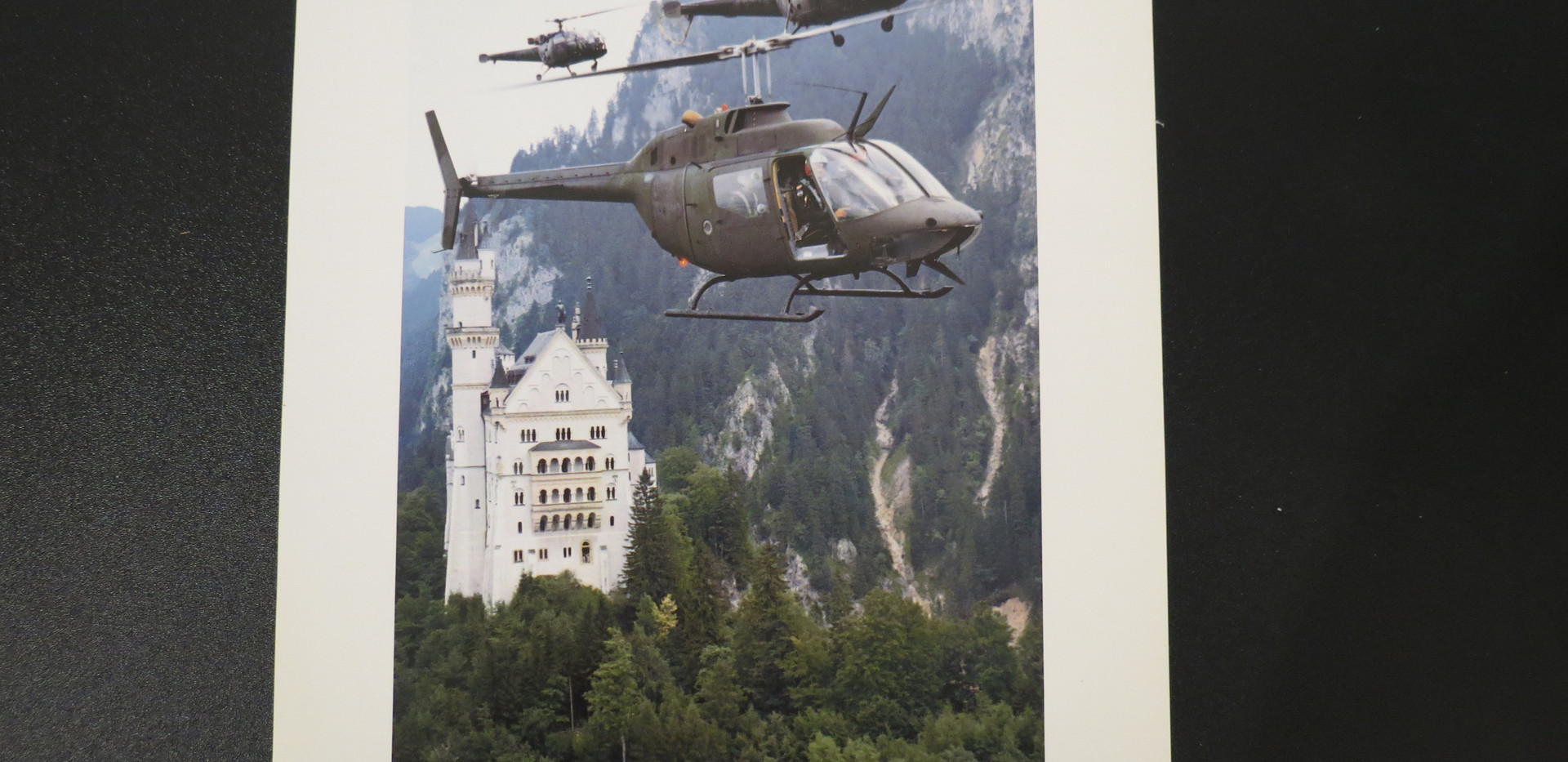 NATO helicopter poster