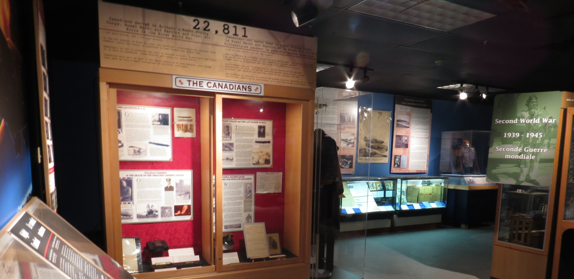 WWI Exhibit/Exposition de la Première guerre mondiale
