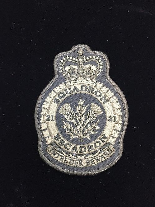 21 Squadron Heraldic Patch