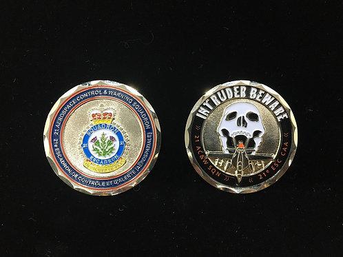 21 Squadron Coin