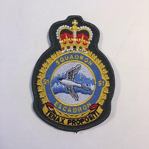 51 Squadron Heraldic Patch