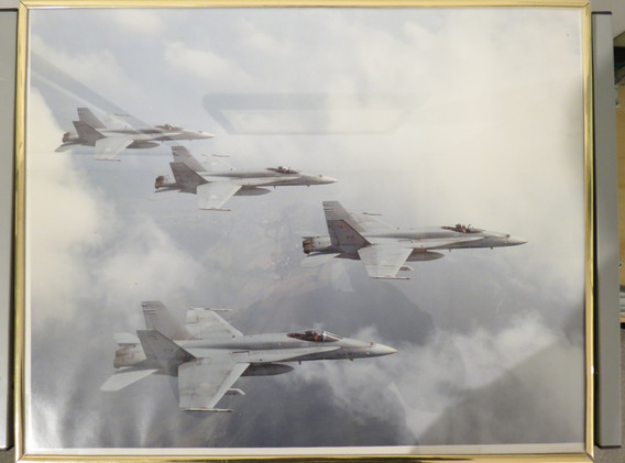 """""""CF-18s on the way to the Gulf War 1991"""""""