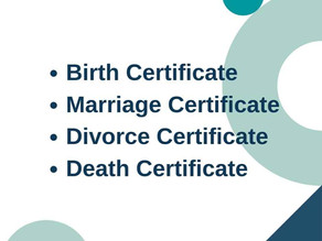 How to Get a Copy of a Birth/Marriage/Divorce/Death Certificate?