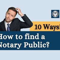 How to find a Notary Public?