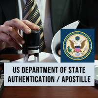 US Department of State Apostille and Authentication Process