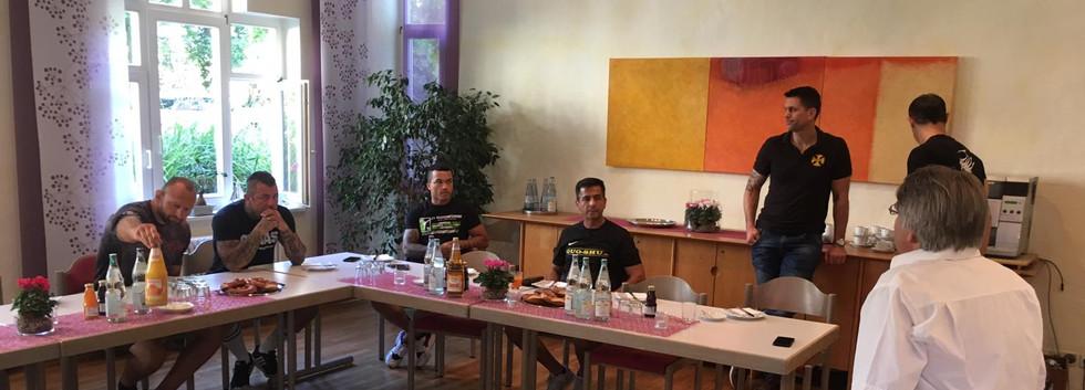 Meeting in der Kinderklinik Freiburg