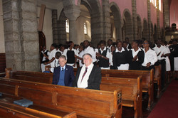 Annual Inspection and Church Parade