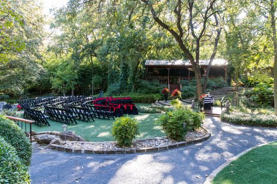 Outdoor Ceremony in The Gardens