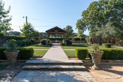 outdoor garden reception
