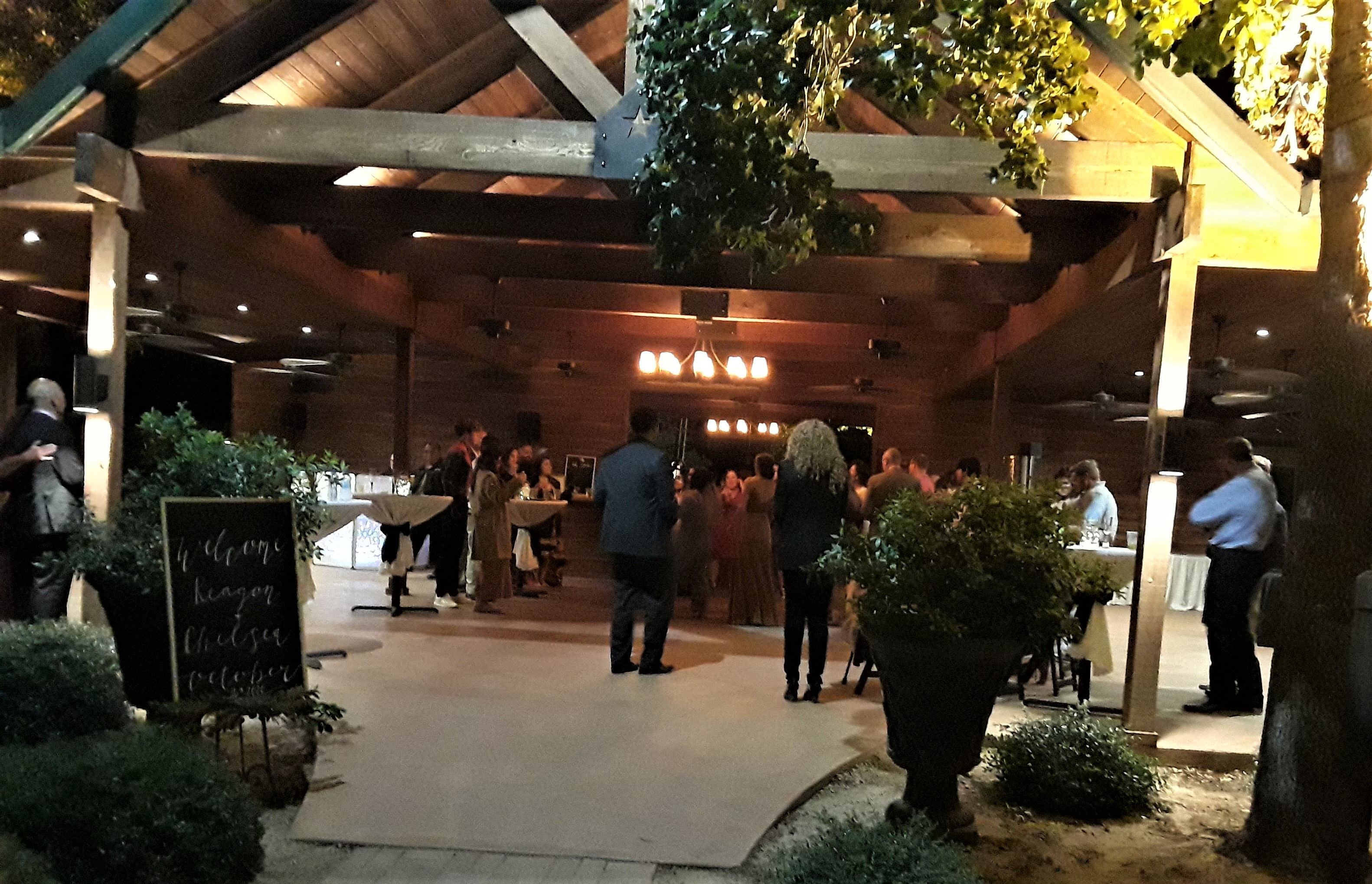 outdoor reception, rustic bar, event, outdoor wedding near fort worth