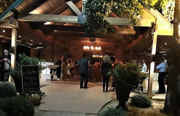 Wedding Package, Outdoor reception, Rustic bar, small wedding