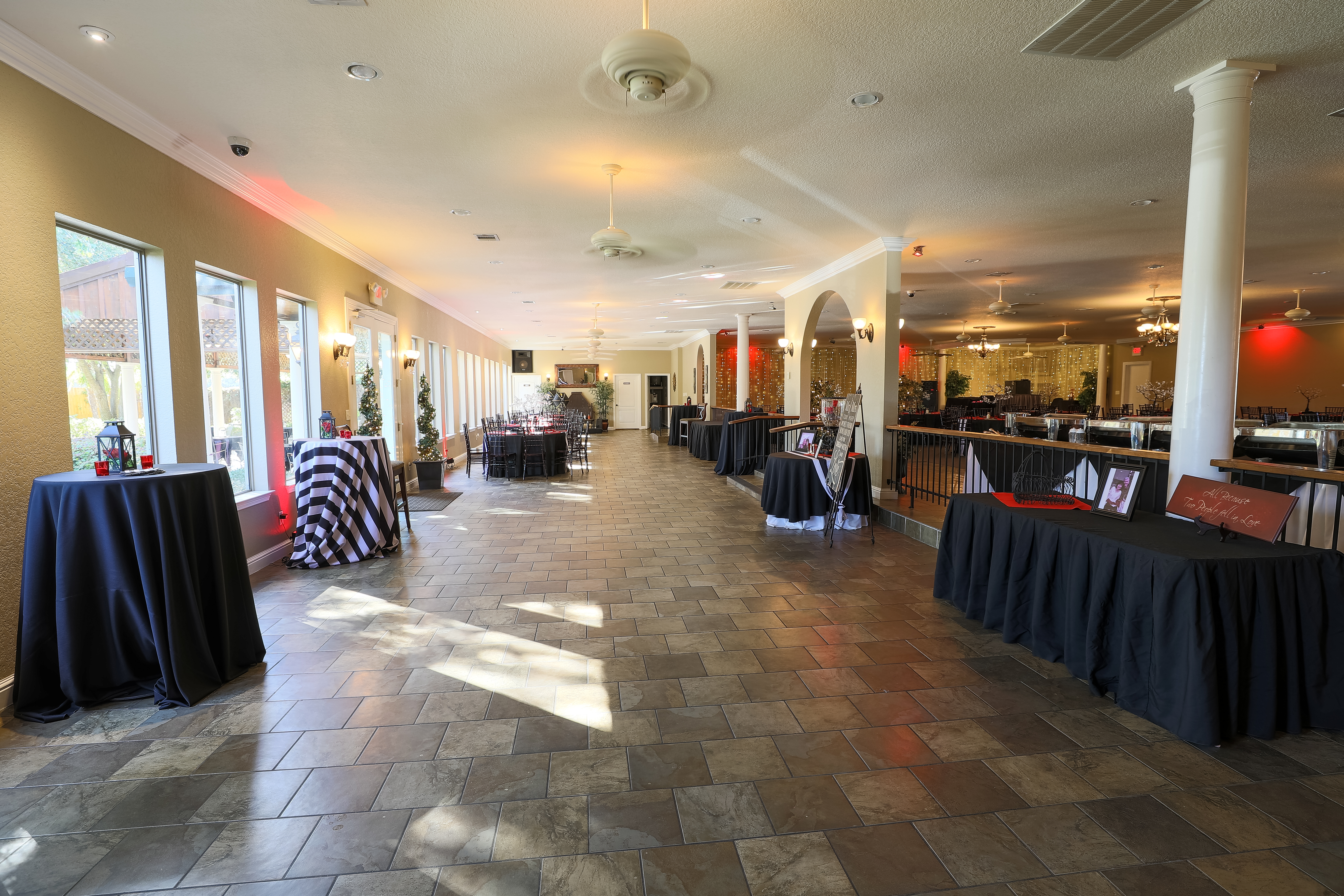 banquet hall lower level