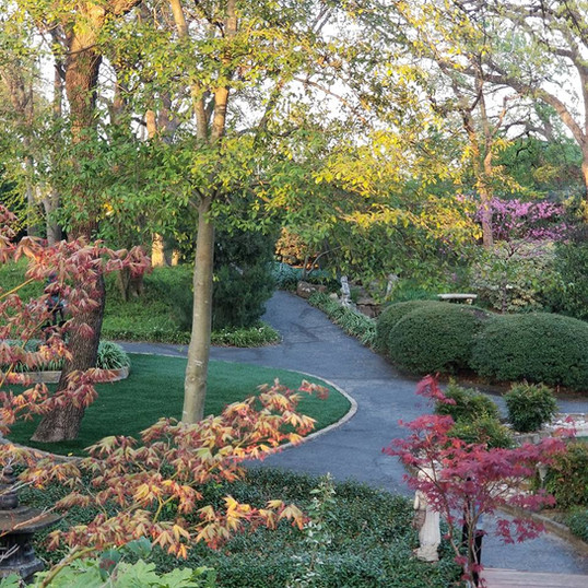 The Gardens are beautiful all year long! Fall picture