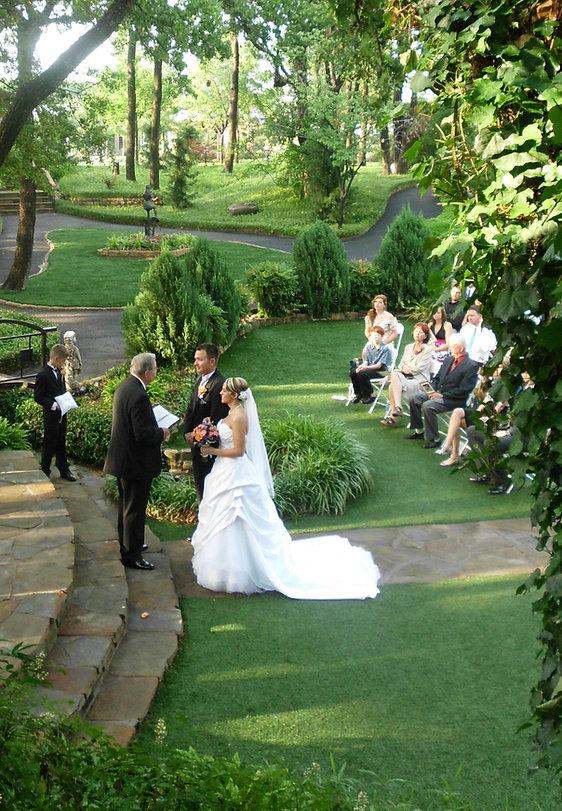 Wedding Packages, Outdoor Garden Wedding